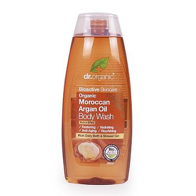 Dr Organic - Moroccan Argan Oil Body Wash, 250ml, £5.49