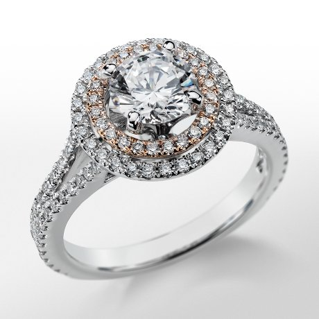 Monique Lhuillier Double Halo Engagement Ring_$3000